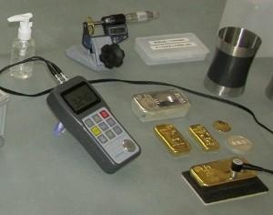Ultraschallmessung-Gold-Silber-Aurogold