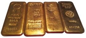 Verschiedene-Goldbarren-1kg