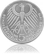 5 DM Gedenkmünzen...