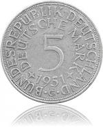 5 DM Kursmünzen B...