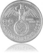 2 Reichsmark Hind...