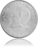 1 US-Dollar Eisen...