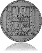 10 Franc Frankrei...