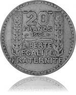 20 Franc Frankrei...