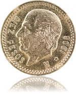 10 Pesos Mexico H...