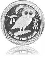 Niue Athener Eule...