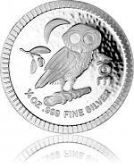 Niue Athenian Owl...