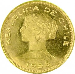 100 Pesos Chile 1...
