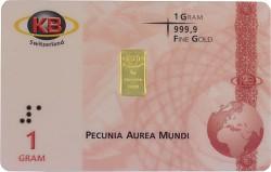 Goldbarren 1g - K...