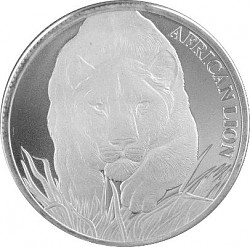Afrika Tschad Löw...