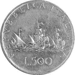500 Lira Italien ...