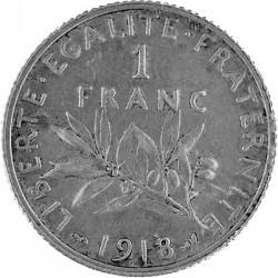 1 Franc Frankreic...