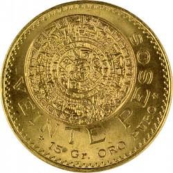 20 Pesos Mexico A...