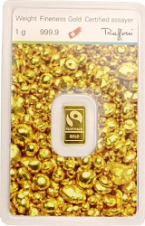 Goldbarren 1g - '...