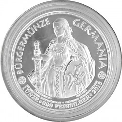 Bürgermünze Germa...