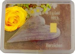 Goldbarren 1g - F...