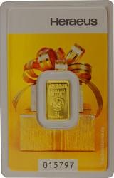 Goldbarren 2g - H...