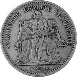 5 Franc Frankreic...