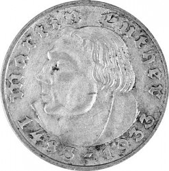 2 Reichsmark Mart...