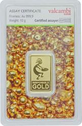 Goldbarren 10g - ...