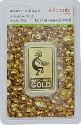 Goldbarren 20g - ...