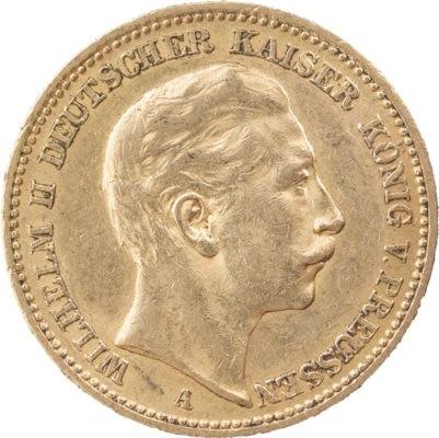 20 Mark Wilhelm Ii 716g Gold Aurogold