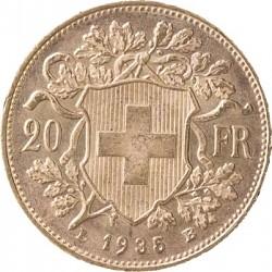 20 Franken Vrenel...