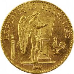 20 Francs stehend...