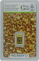 Goldbarren 1g - A...