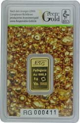 Goldbarren 5g - A...