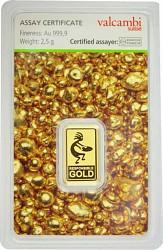 Goldbarren2,5g - ...