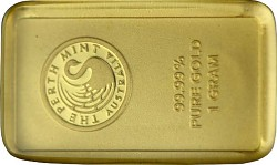 Goldbarren 1g - P...