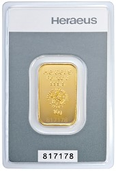 Goldbarren 10 Gra...