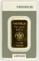 Goldbarren 1 Unze...