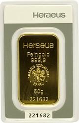 Goldbarren 50g - ...