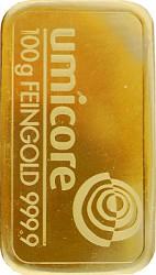 Goldbarren 100g -...