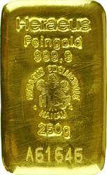 Goldbarren 250g -...