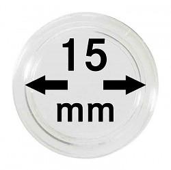 Münzkapseln 15 mm...
