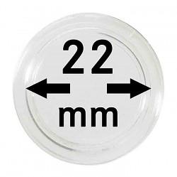 Münzkapseln 22 mm...