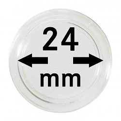 Münzkapseln 24 mm...