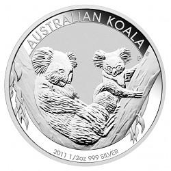 Koala 1/2 Unze Si...