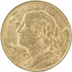10 Franken Vrenel...